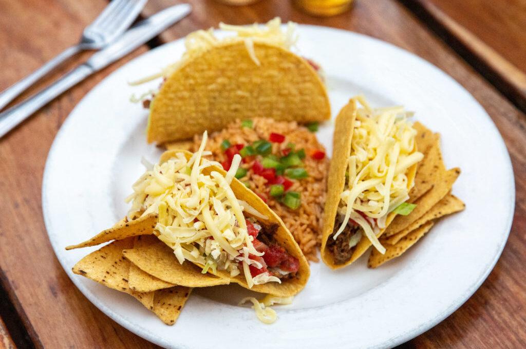 Trio of Tacos (G)